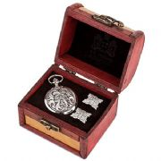 Greenman Cufflinks & Mechanical Watch Set